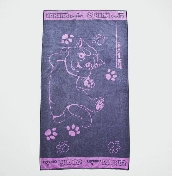 Pink Talking Tom Towel