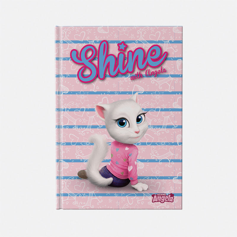 Talking Angela A4 Notebook - Kids Shine