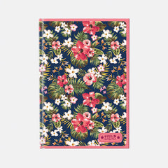 Talking Angela A4 Notebook - Teen Flowers
