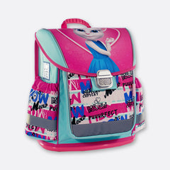 Talking Angela Ergonomic School Backpack Love Meow