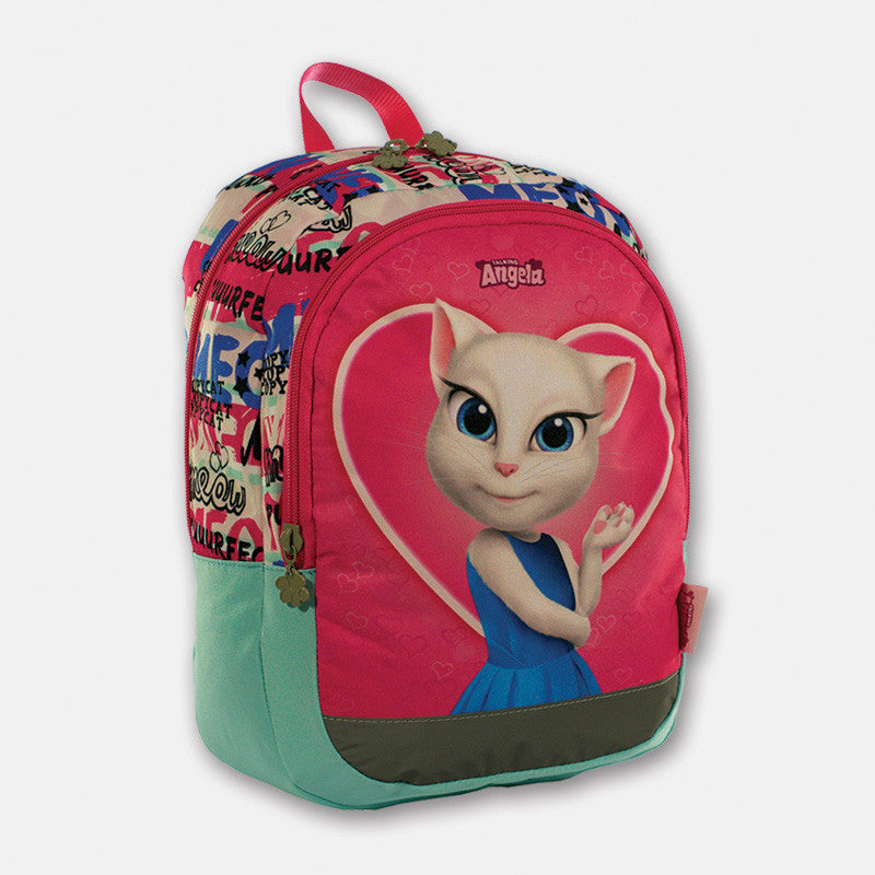 Talking Angela Small Backpack Love Meow