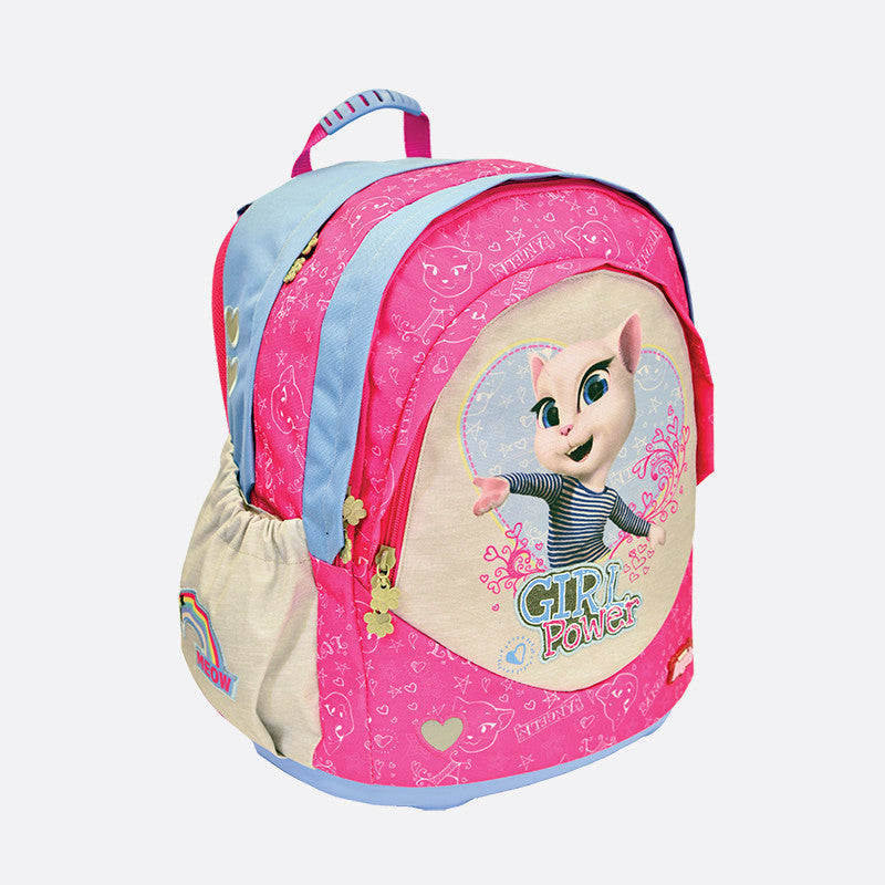 Talking Angela SOFT Ergonomic Backpack - Kids Girl Power