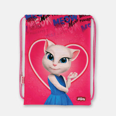 Talking Angela Gym Bag Love Meow