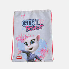 Talking Angela Slipper Bag, Kids Girl Power