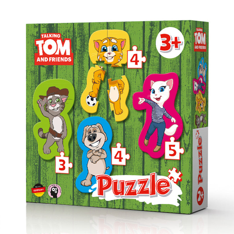 Form Puzzle - Talking Tom and Friends Tabletop Games