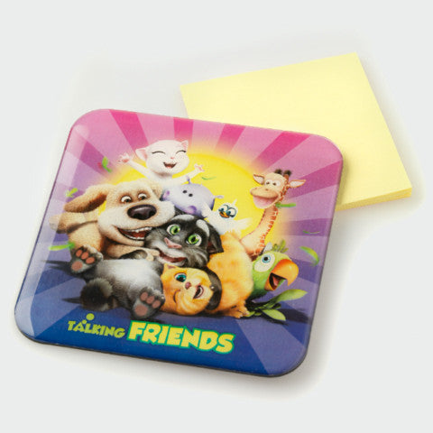 Talking Friends Family Magnet