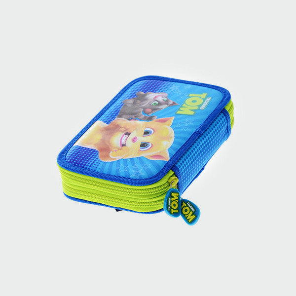 Talking Tom 'Double the Trouble' Pencil Case