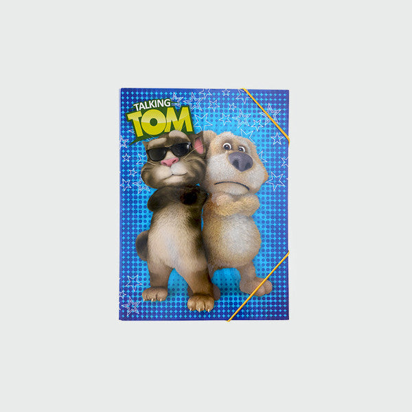 Talking Tom and Ben Cover Folder