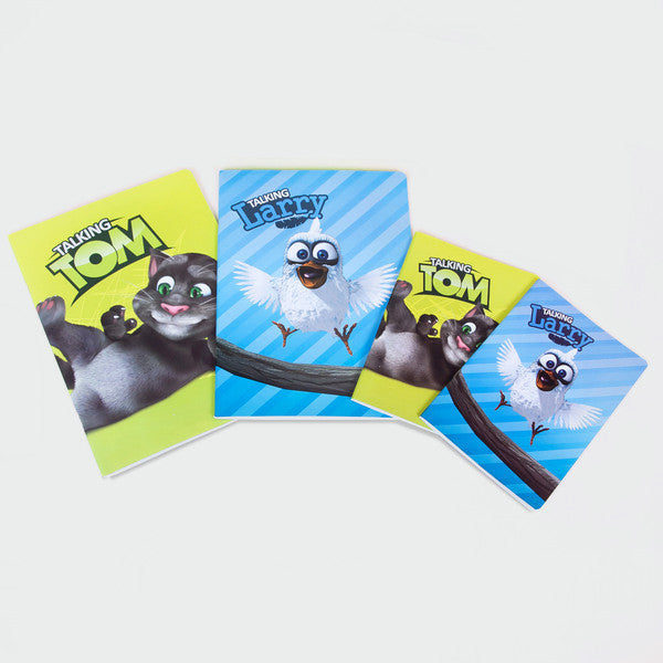 Talking Tom and Larry's Coolest Notebooks
