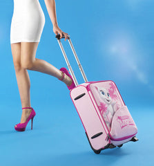Talking Angela's Beautiful Traveler Suitcase
