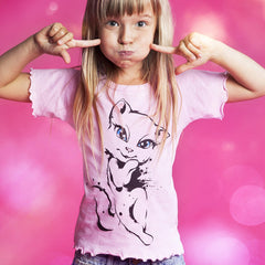 Talking Angela's City Kitty T-Shirt for Girls