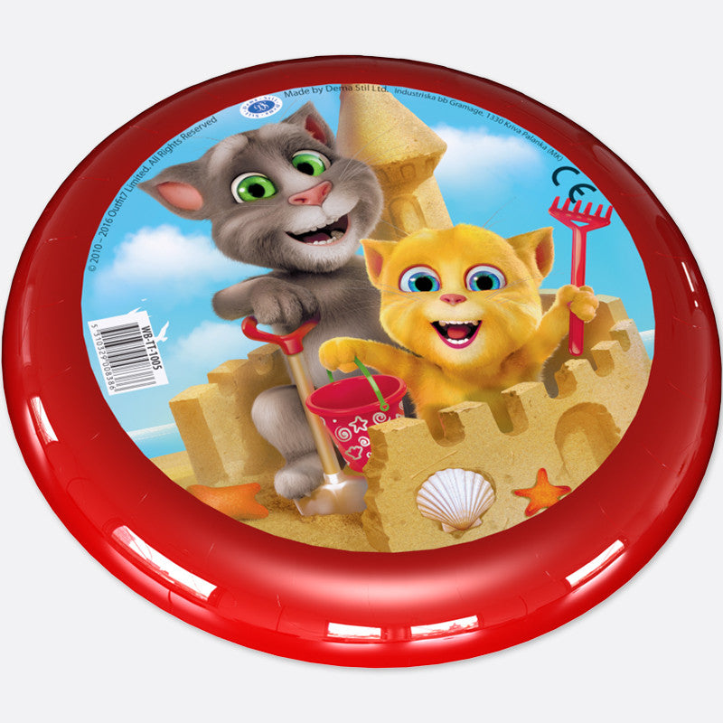 Talking Tom & Ginger Beach Flying Disc