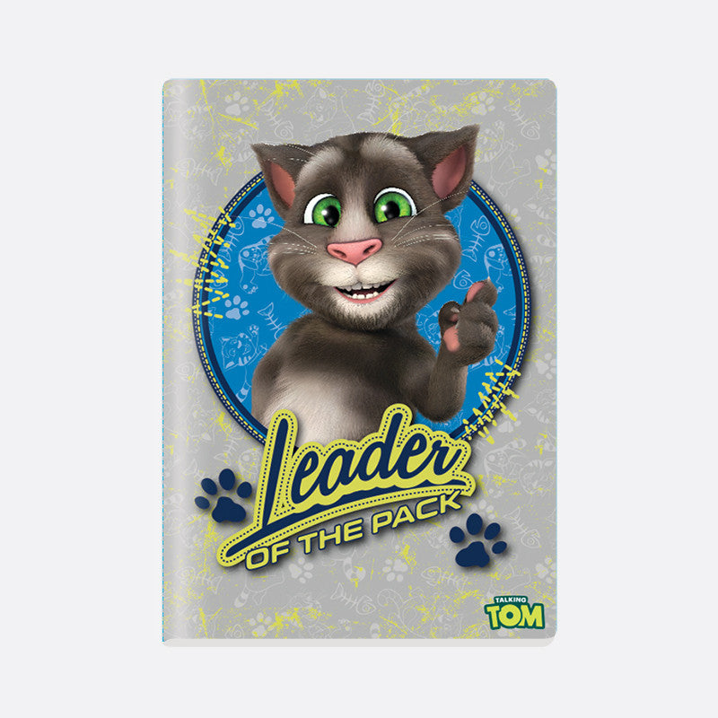 Talking Tom A4 Notebook - Kids Leader of the Pack