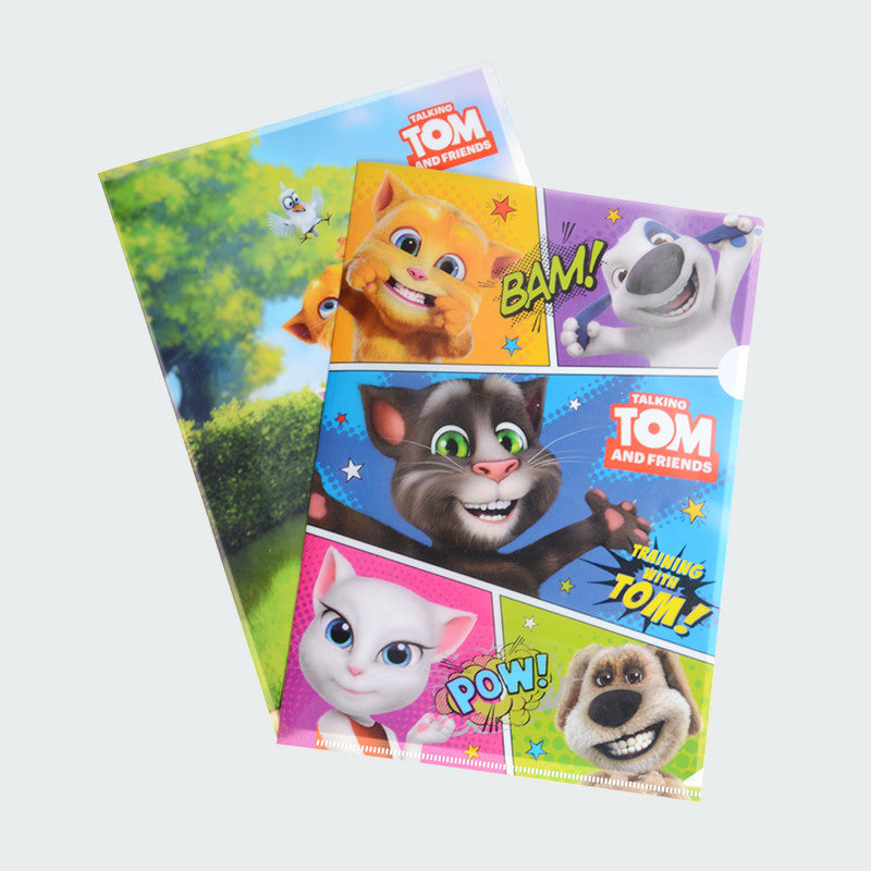 "Talking Tom and Friends ""Bam! Pow!"" Document File"