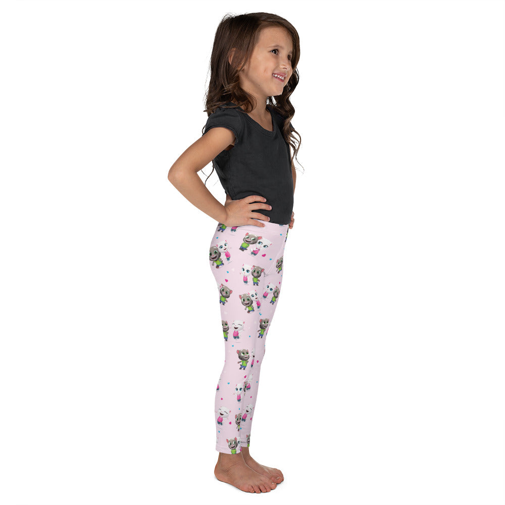 Tom Loves Angela Leggings Kids - pink