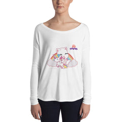 Talking Angela Unicorn Women's Sweatshirt