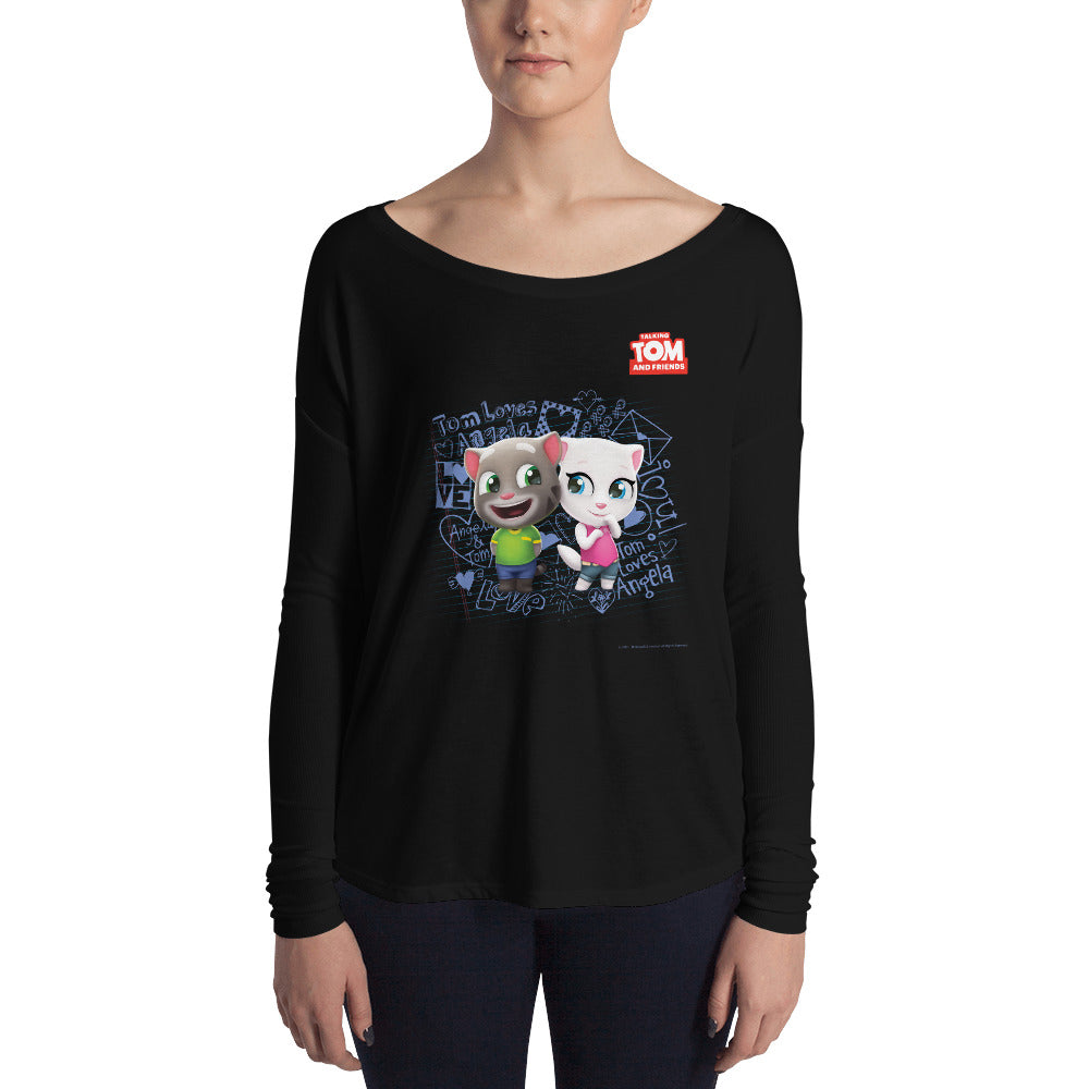 Tom Loves Angela Women's Sweatshirt