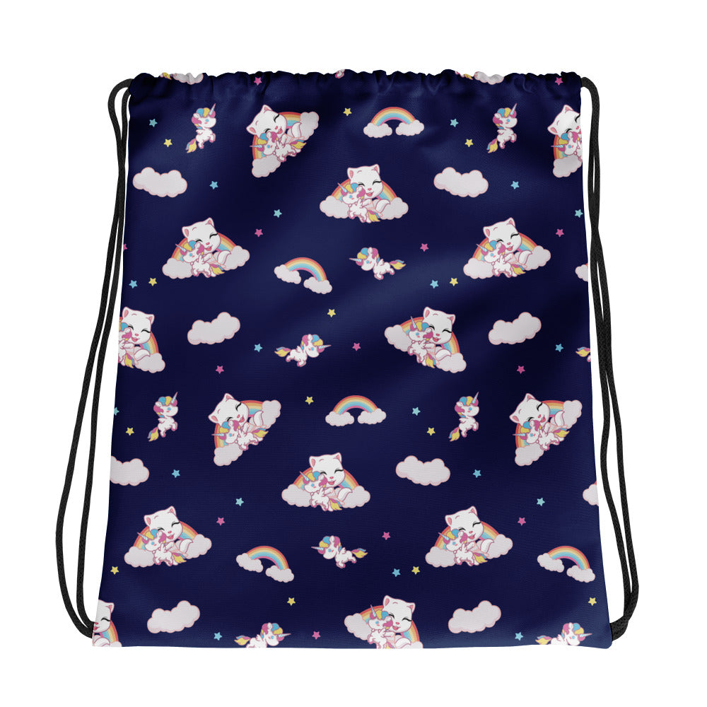 Talking Angela Unicorn Bag - blue