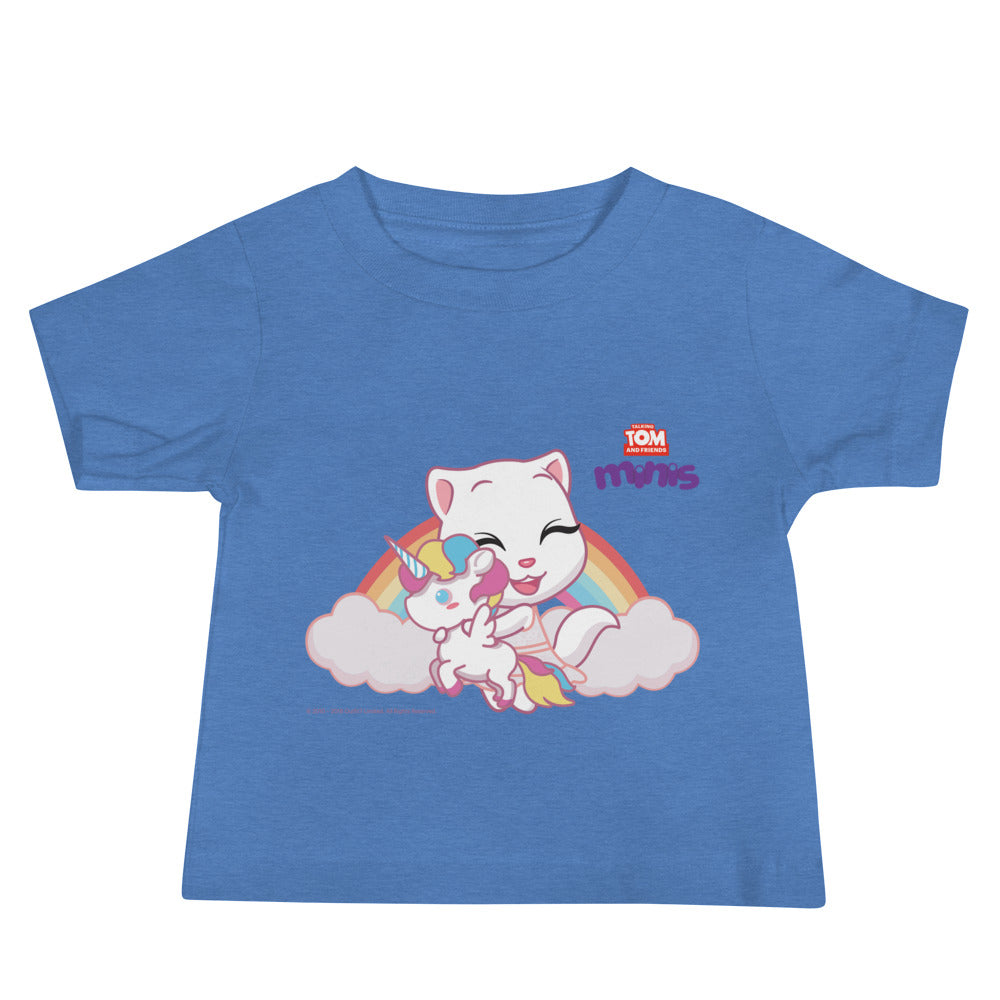 Talking Angela Unicorn Baby T-shirt