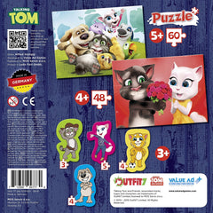 Puzzle - Talking Tom and Friends Tabletop Games