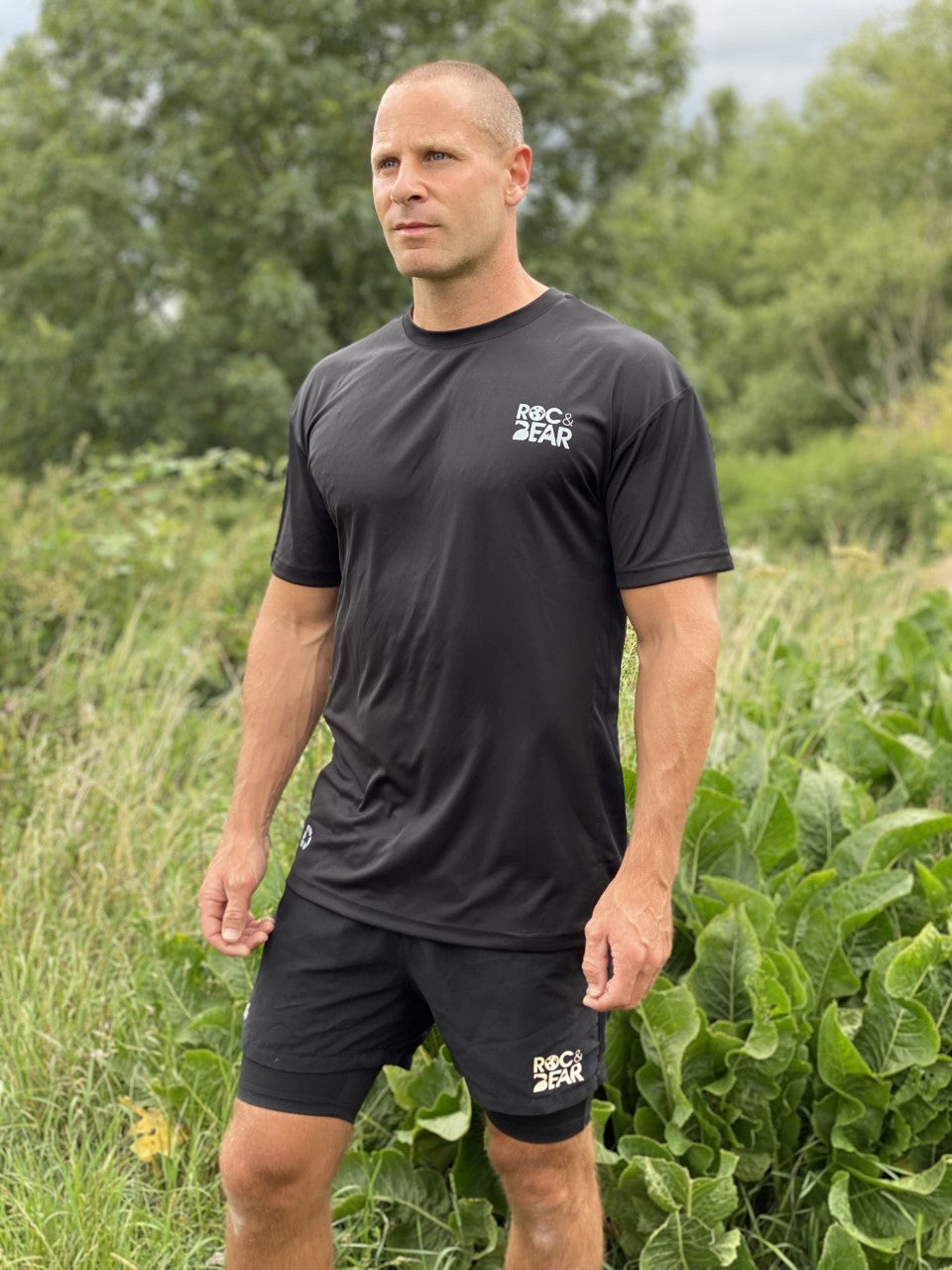 Eco Friendly, Dri-fit T-Shirt, made from recycled plastic, BLACK