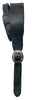 LM Products The Coachman BQ-W Leather Guitar Strap w/ Buckle USA -