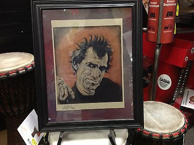 Simply Wicked Art Keith Richards / Rolling Stones-  HARD TO FIND RARE