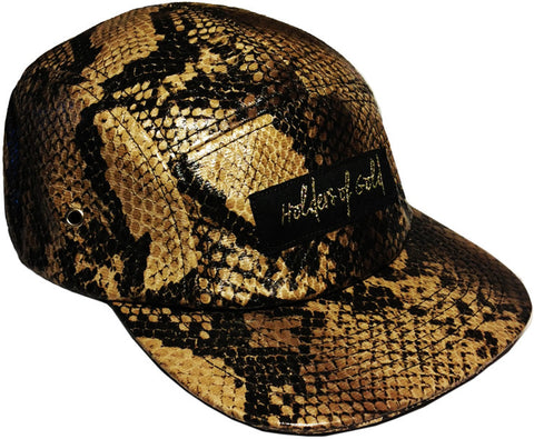 *LIMITED EDITION* SIGNATURE STRAPBACK IN SNAKESKIN