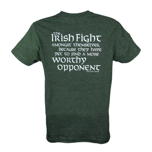 Celtic Attitudes Forest Green T-Shirt