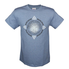 Load image into Gallery viewer, Tree of Life Blue T-Shirt