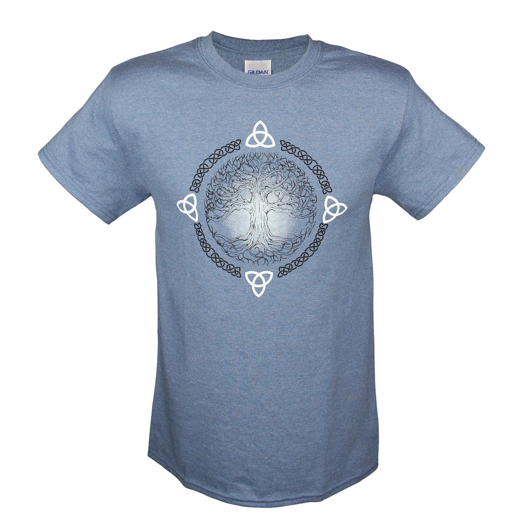 Tree of Life Blue T-Shirt
