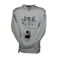 Load image into Gallery viewer, Feckin' Wrecked Gray Tailgate Hoodie
