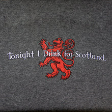 Load image into Gallery viewer, Drink for Scotland Dark Gray Tailgate Hoodie