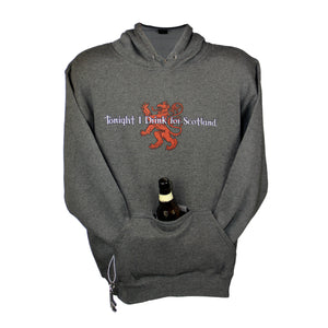 Drink for Scotland Dark Gray Tailgate Hoodie