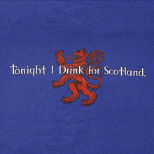 Load image into Gallery viewer, Drink for Scotland Blue T-Shirt