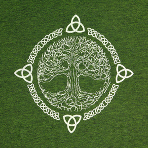 Tree of Life Green Women's T-Shirt