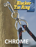 Blocker Tie Ring Chrome