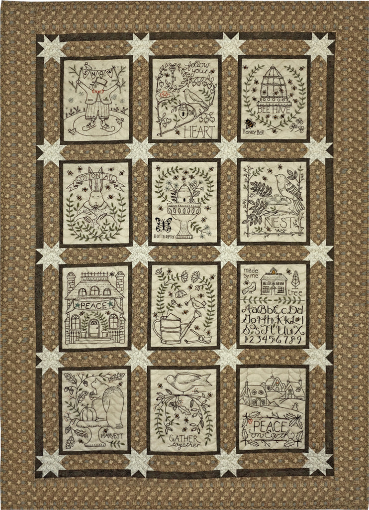 A Joyful Journey Quilt Pattern Only Not Embroidery Patterns