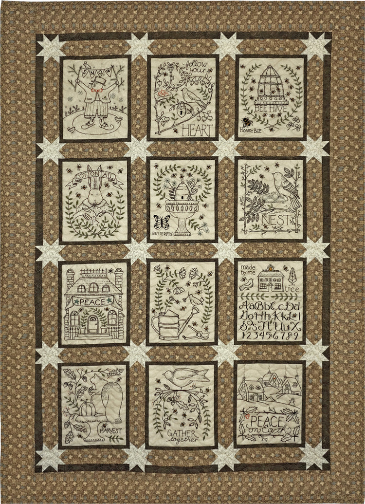 A Joyful Journey QUILT PATTERN ONLY (not embroidery patterns)