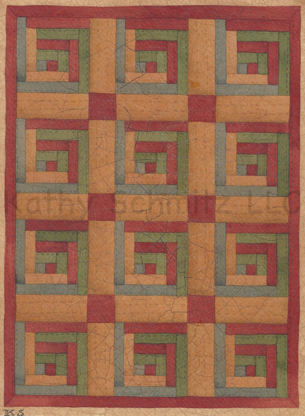P40- Square Quilt Pattern