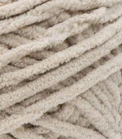 Chenille trim - dark ecru/almond