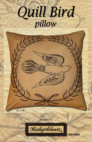 Quill Bird Pillow -CLEARANCE