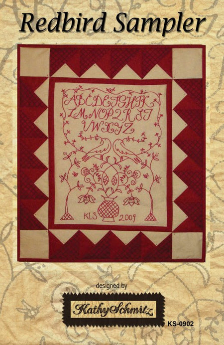 Redbird Sampler - PDF DOWNLOAD PATTERN