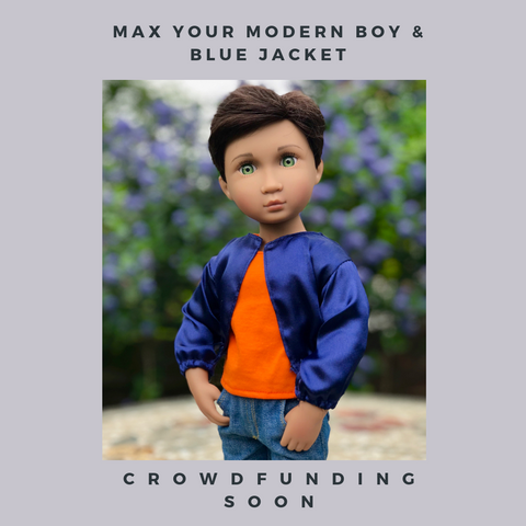 Max Your Modern Boy crowdfunding in May - A Girl for All Time