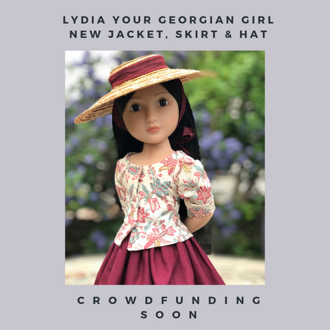 Lydia Your Georgian Girl - crowdfunding in May - A Girl for All Time