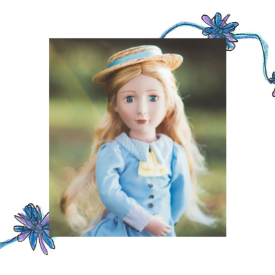 Amelia, Your Victorian Girl™ is part of the collection of historical 16 inch dolls from A Girl for All Time. Not associated with American Girl dolls or Our Generation dolls. Historical play for children and families.