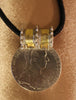 Antique Silver Bullion,  Maria Theresa Thaler  Omani Coin Pendant