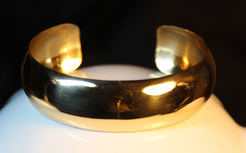 Alchemia Gold One Inch Cuff