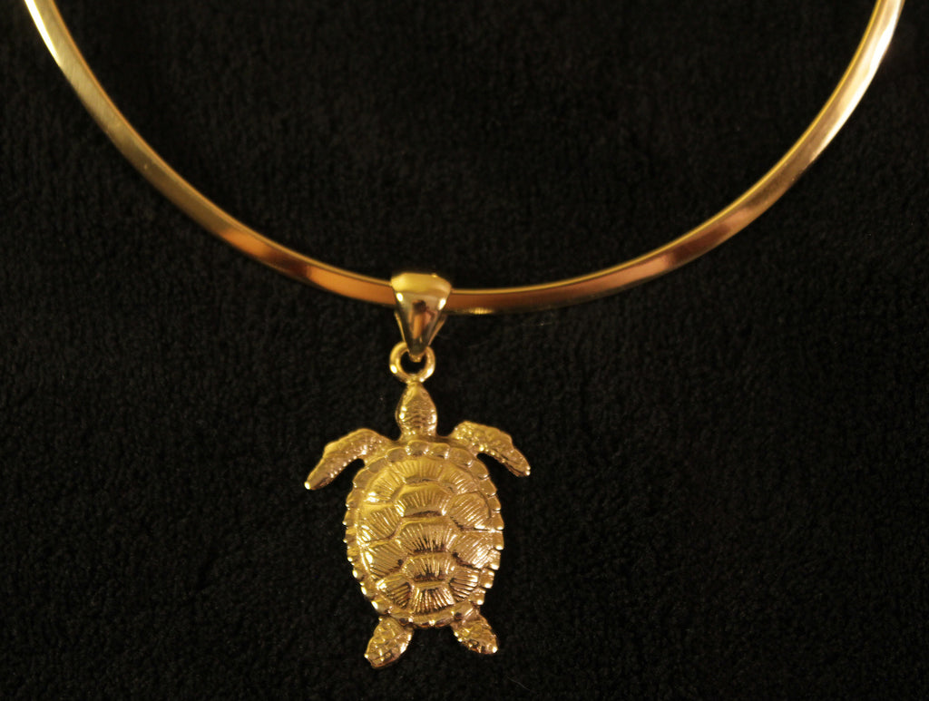 Turtle Pendant with Alchemia Necklace