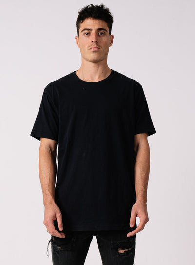 DESTROYED TEE WASHED BLACK